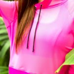 Худи Play Off pink fluo