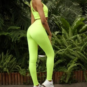 Леггинсы Chic'n' Charme Green Fluo