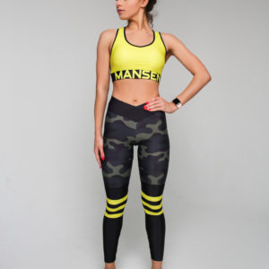 Леггинсы Crossfit military stripes